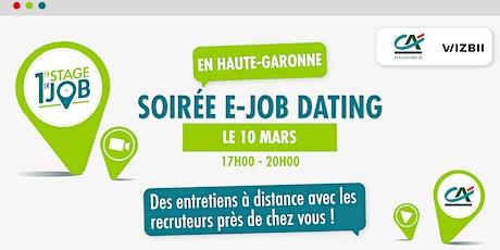 E-Job Dating Haute-Garonne : décrochez un emploi dans votre région billets