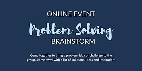 Copy of Problem Solving Brainstorm biglietti
