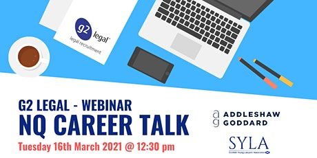 NQ Solicitor Career Talk - March 2021 tickets