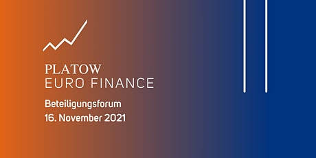 PLATOW EURO FINANCE Beteiligungsforum tickets
