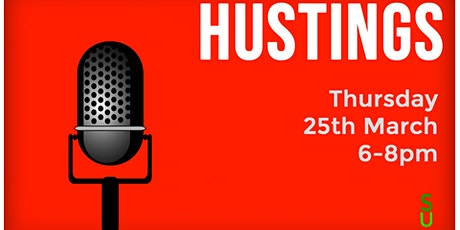 Exec Elections - Hustings tickets