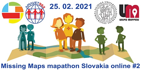 Missing Maps mapathon Slovakia online #2 billets
