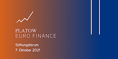 PLATOW EURO FINANCE Stiftungsforum tickets