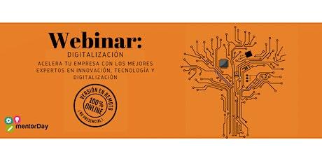 Webinar. Innovación, Tecnología, Digitalización entradas