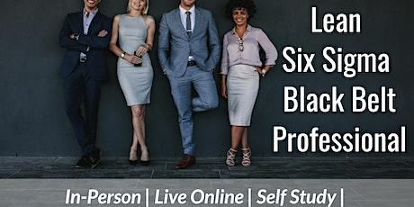 LSSBB 4 days Classroom Training in Salt Lake City tickets