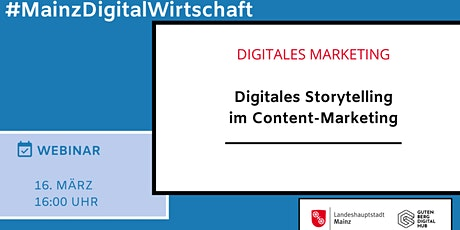 Digitales Storytelling im Content-Marketing tickets