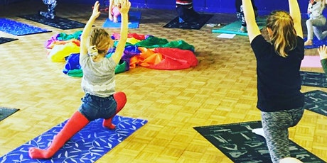 Easter Fundraising Workshop - Children's and Teen's Yoga tickets