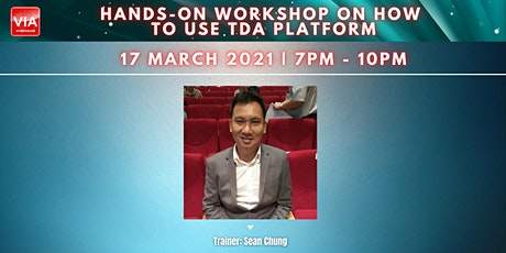 Hands-on Workshop on How to Use TDA Platform tickets
