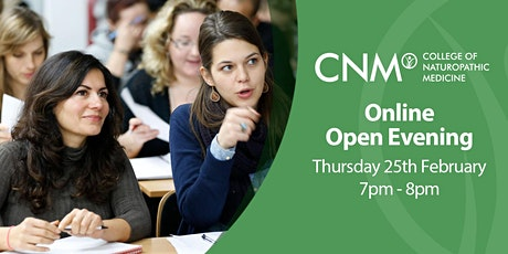 CNM Online Open Evening - Thursday, 25th February 2021 tickets