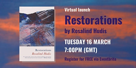 Virtual Launch of Restorations by Rosalind Hudis tickets