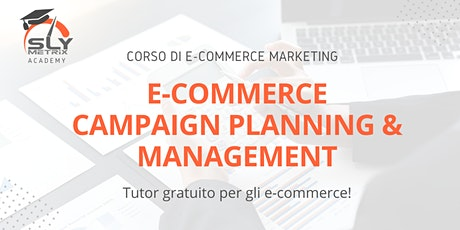 CORSO - E-commerce Campaign Planning & Management tickets