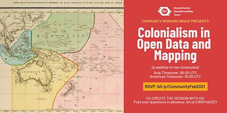 Colonialism in Open Data and Mapping tickets