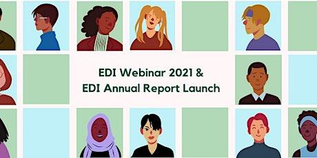 EDI Webinar and Launch of EDI Annual report tickets