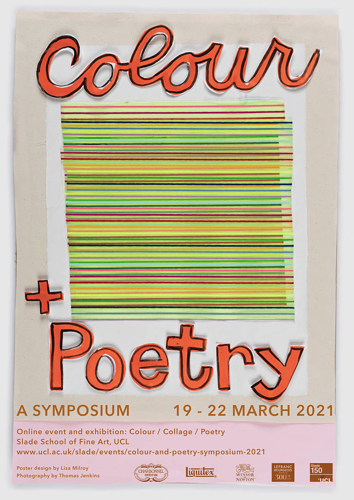 Colour and Poetry: A Symposium - 4 day booking image