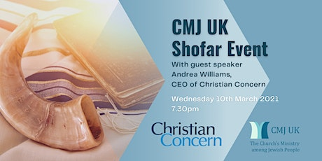 CMJ UK Shofar Event with Andrea Williams, CEO of Christian Concern tickets