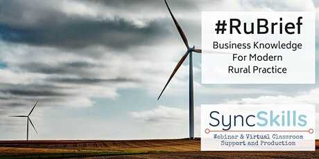 #Rubrief : Natural Capital for the rural professional tickets
