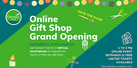Online Gift Shop Grand Opening tickets