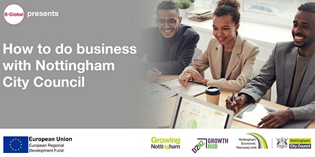 B-Global - How To Do Business with Nottingham City Council tickets