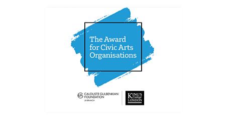 The Award for Civic Arts Organisations tickets