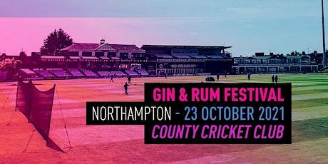 The Gin & Rum Festival - -  Northampton - 2021 tickets