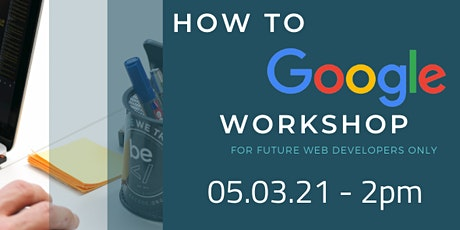 How to Google workshop - BeCode tickets