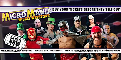 MicroMania Midget Wrestling: Mills, Wy at the Beacon Club tickets