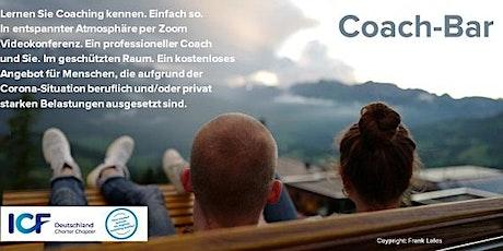 Coach-Bar: Ein persönliches Gespräch mit einem Coach Tickets