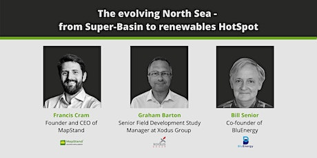 The evolving North Sea - from Super-Basin to renewables HotSpot tickets