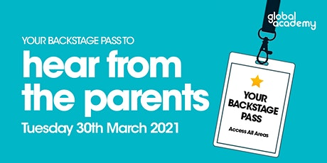 Backstage Pass To... What the Parents really think tickets