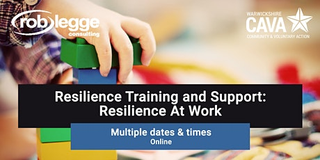 Resilience Training and Support: Resilience At Work tickets