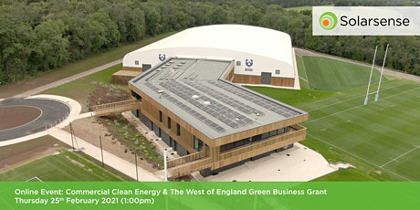Commercial Clean Energy & The West of England Green Business Grant tickets