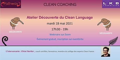 Atelier Découverte du Clean Coaching 18 Mai 2021 tickets
