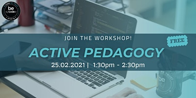 Active Pedagogy Workshop – BeCode Antwerp