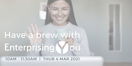 Have a Brew with EnterprisingYou: Looking forward with Lou Cordwell OBE tickets