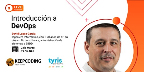 Webinar: Introducción a DevOps boletos