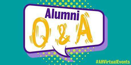 A&H Alumni Panel with Q&A tickets