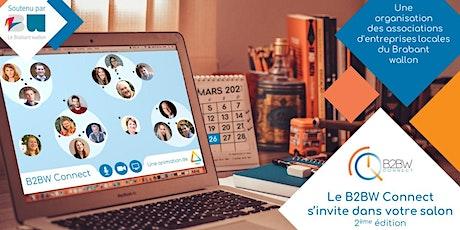 Le B2BW Connect s'invite dans votre salon, 2ème édition billets