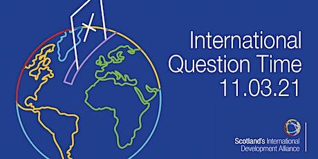 International Question Time billets