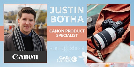 Virtual Spring Shoot 2021 – 121 Live Chat with Justin from Canon tickets