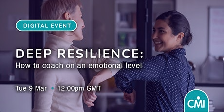 Deep Resilience: How to coach on an emotional level tickets