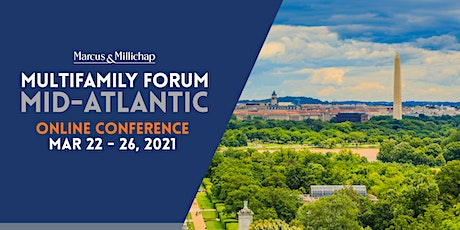 Marcus and Millichap Multifamily Online Conference: Mid-Atlantic tickets