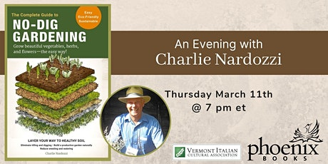 An Evening with Charlie Nardozzi tickets