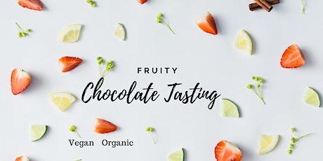 Fruity Chocolate Tasting: Gluten Free & Vegan tickets