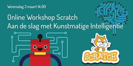 Online workshop Scratch met kunstmatige intelligentie 8+ tickets