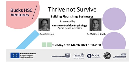 Building Flourishing Businesses: Thrive not Survive tickets