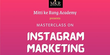 Masterclass on - Instagram Marketing entradas
