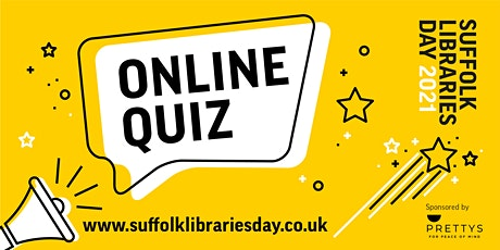 Suffolk Libraries Day Quiz - sponsored by Prettys Solicitors tickets