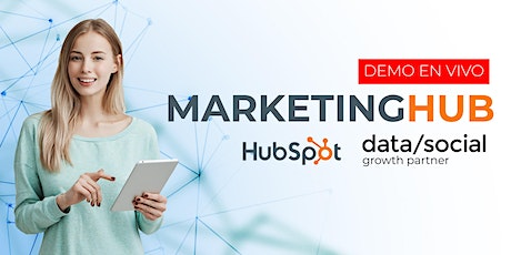 Hubspot Marketing: Un demo en vivo para triunfar en el mundo del marketing tickets