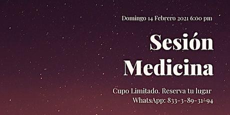 Sesión Medicina entradas