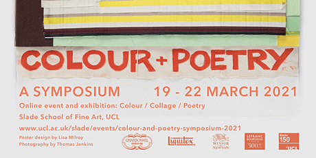 Colour & Poetry: A Symposium - Saturday 20th March PM tickets